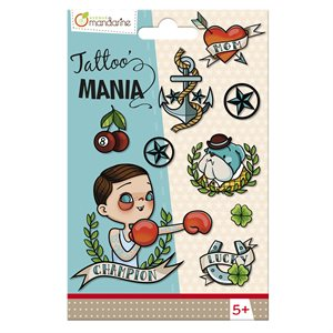 TATTOO MANIA SUPER BOY