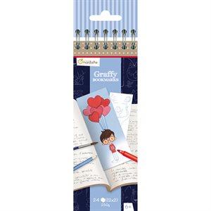 Marque-pages à colorier Graffy Bookmarks- Fête des pères
