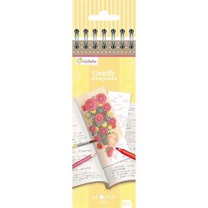 Marque-pages à colorier Graffy Bookmarks- Fête des mères